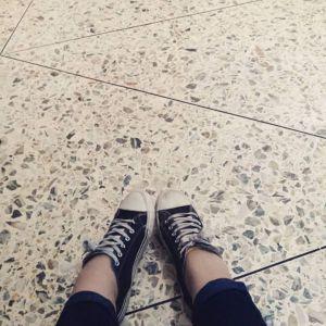 ... my feet are still walking.